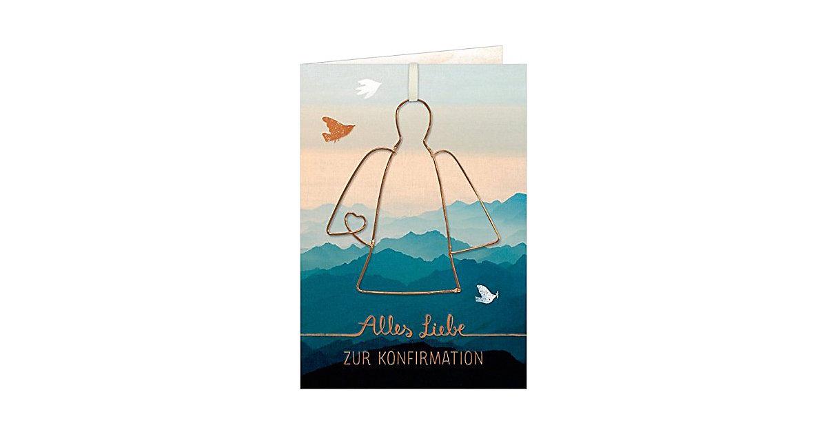 Grußkarte Alles Liebe zur Konfirmation