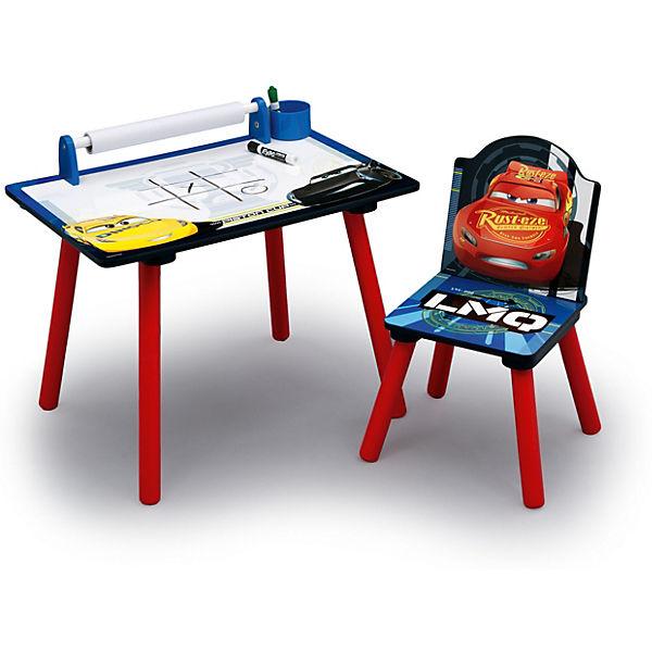 schreibtisch mit papierrolle und stuhl cars disney cars mytoys. Black Bedroom Furniture Sets. Home Design Ideas