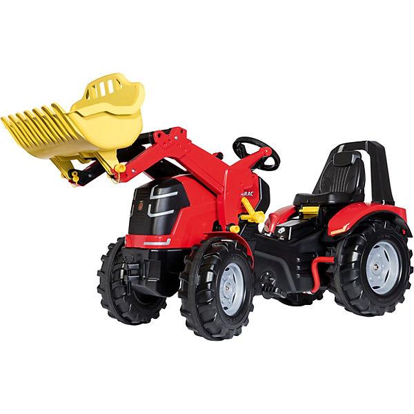 RollyX-Trac Premium mit Frontlader, Schaltung und Bremse, Rolly Toys