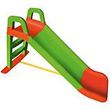 """Горка Doloni """"Весёлый спуск"""", зелёно-оранжевая"""