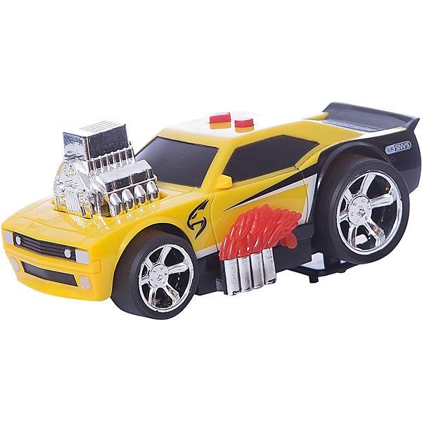 Гоночная машина Играем вместе, черно-желтая