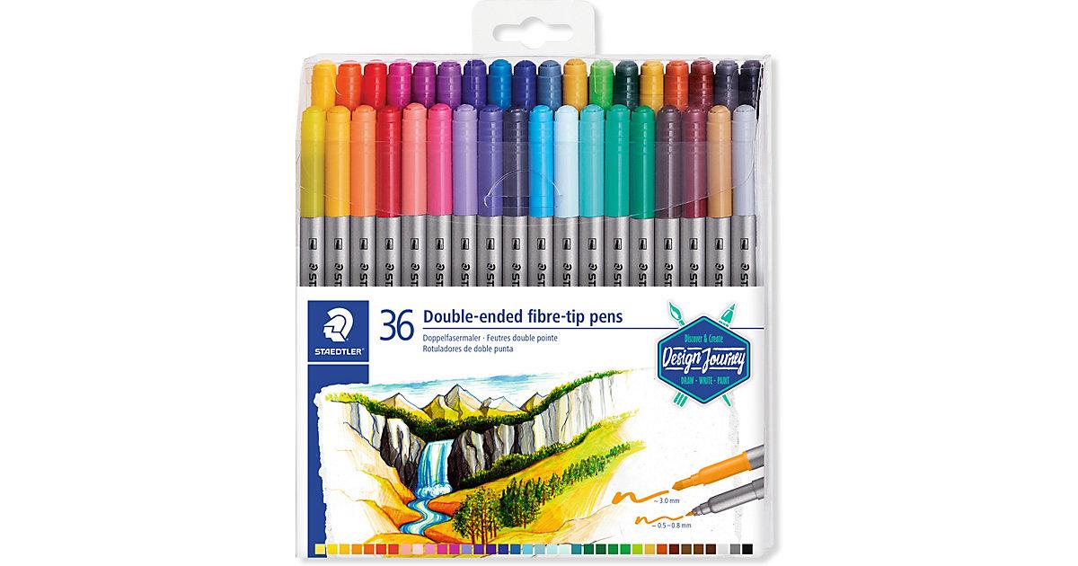 Doppel-Filzstifte, 36 Farben