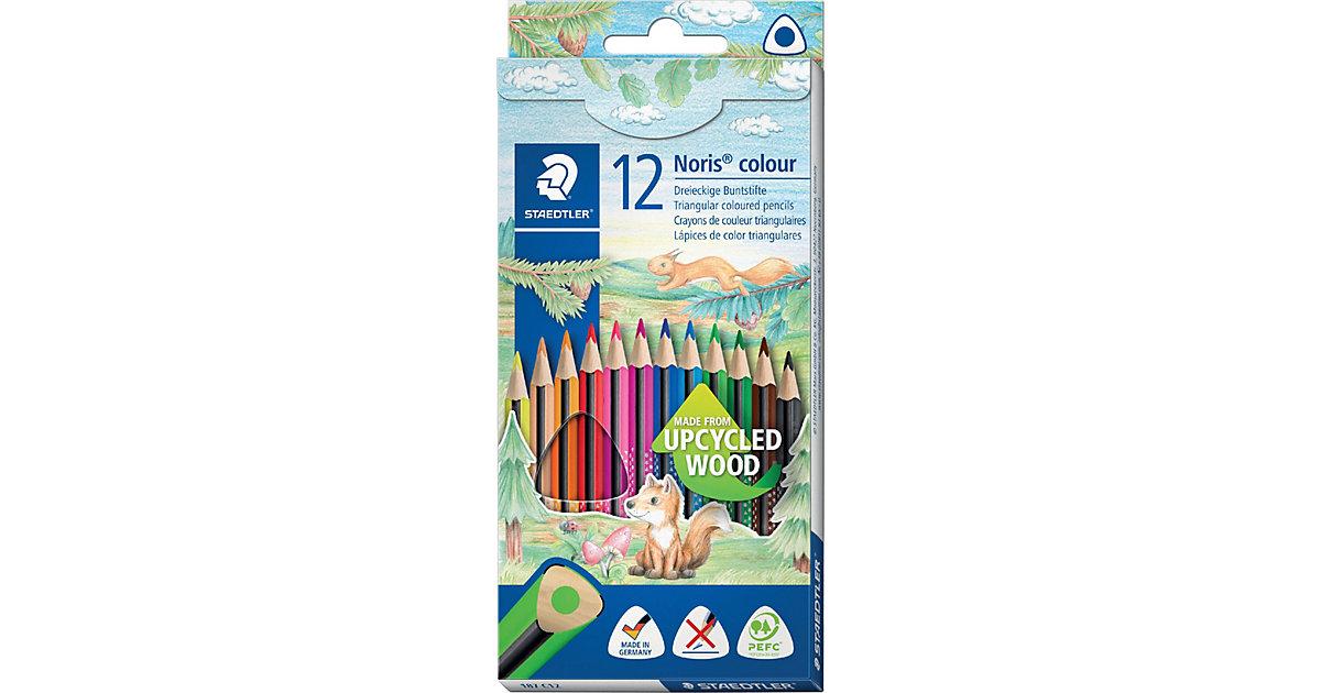 Noris colour Buntstifte, 3-Kant, 12 Farben