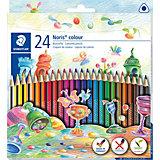 Набор цветных карандашей Staedtler «Noris Colour», 24 цвета