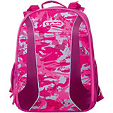 "Рюкзак Herlitz ""be.bag Airgo"" Camouflage Girl, без наполнения"