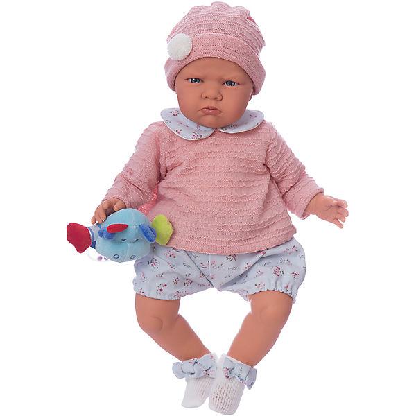 """Кукла """"Бернардита"""" в голубом,52 см, Munecas Antonio Juan"""