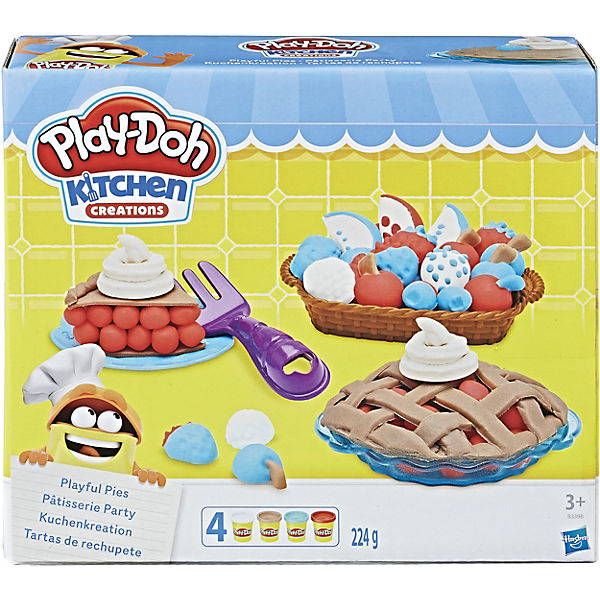 Play-Doh Kuchenkreation