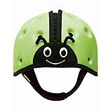 "Мягкая шапка-шлем для защиты головы SafeheadBABY ""Божья коровка"", зеленый"