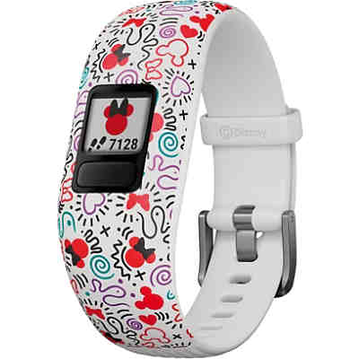Garmin vivofit jr. 2 Action Watch Minnie Mouse weiss