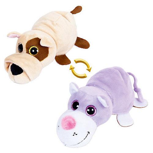 """Мягкая игрушка Teddy """"Перевертыши"""" Собака-Кот, 16 см от TEDDY"""