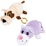 """Мягкая игрушка Teddy """"Перевертыши"""" Собака-Кот, 16 см"""