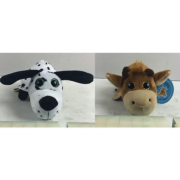 """Мягкая игрушка Teddy """"Перевертыши"""" Собака-Бык, 16 см"""