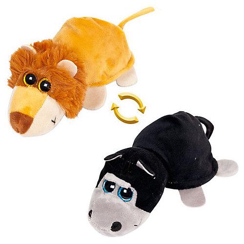 "Мягкая игрушка Teddy ""Перевертыши"" Лев-Обезьяна, 16 см от TEDDY"