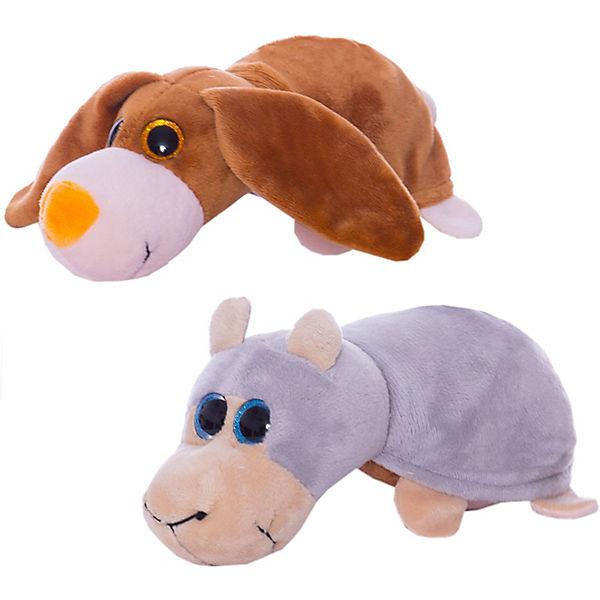 """Мягкая игрушка Teddy """"Перевертыши"""" Овечка-Собака, 16 см"""