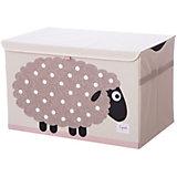 Сундук для хранения игрушек 3 Sprouts Бежевая овечка