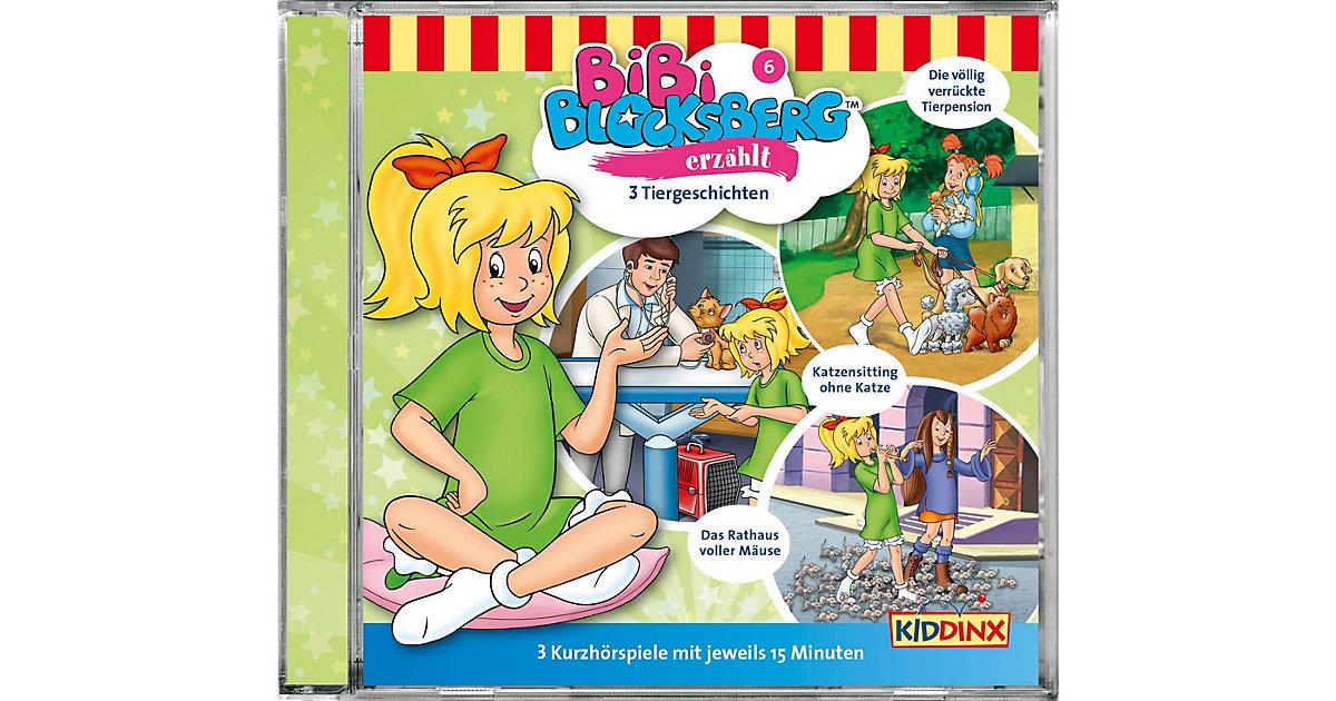CD Bibi Blocksberg erzählt 3 Tiergeschichten
