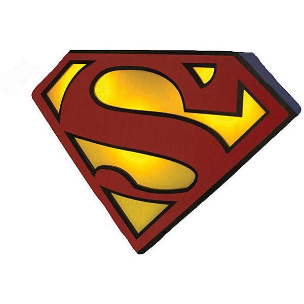 Superman Logo Licht ca. 25cm, Superman