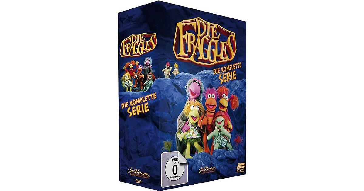 DVD Die Fraggles - Die komplette Serie (Staffel...
