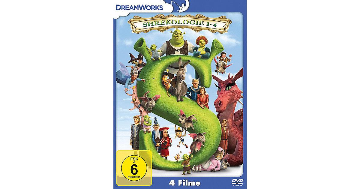 DVD Shrekologie 1-4 (4 DVDs) Hörbuch