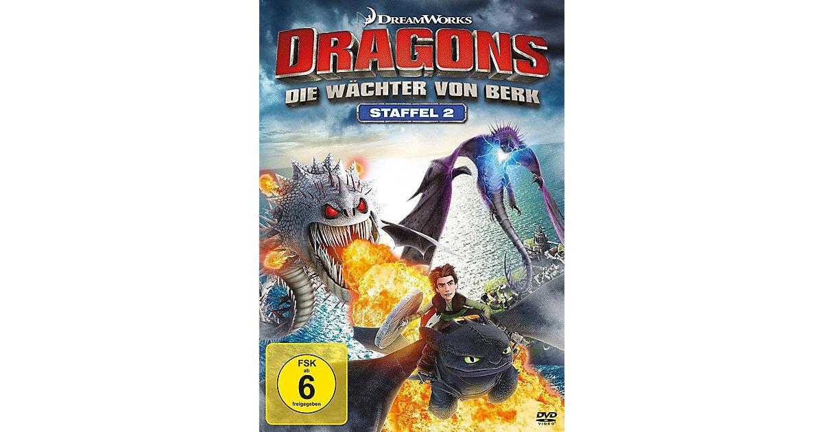 DVD Dragons - Die Wächter von Berk - Staffel 2  (Vol. 1-4  auf 4 DVDs) Hörbuch