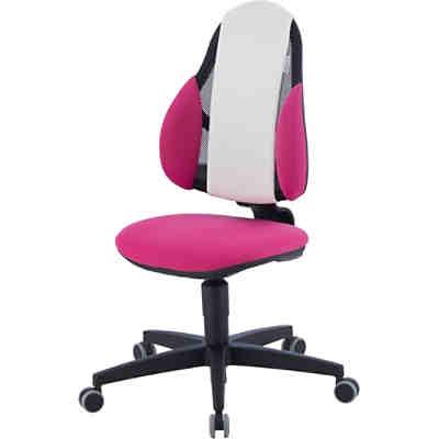 Schreibtischstuhl Kid S Chair Plus Pink Weiss Kettler