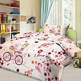 Детское постельное белье 1,5 сп. Letto,Элли, розовый