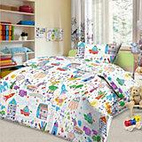 Детское постельное белье 3 предмета Letto, BG-38