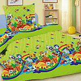 Детское постельное белье 3 предмета Letto, простыня на резинке, BGR-27