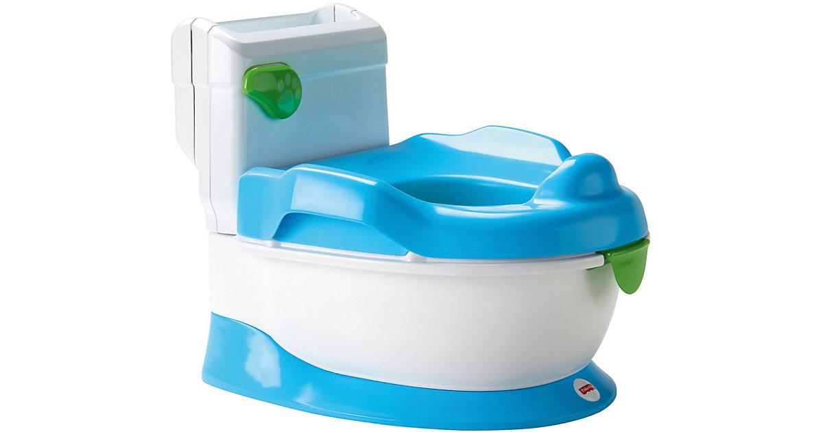 Mattel · Fisher Price - Lerntöpfchen blau-weiß
