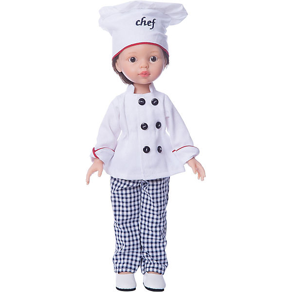"""Кукла Paola Reina """"Карлос повар"""", 32 см"""