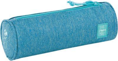 Schlampermäppchen 4Kids, School Pencil Case, blau, Lässig