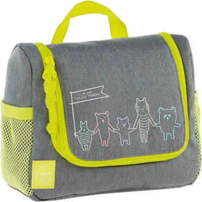 Kulturbeutel 4Kids, Mini Washbag, About Friends grau
