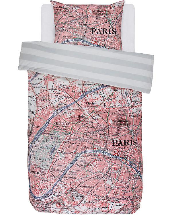 Wende Bettwäsche Paris Citymap Multi 135 X 200 Cm Covers Co