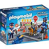 """Конструктор Playmobil """"Полиция"""" Блокпост Полиции"""