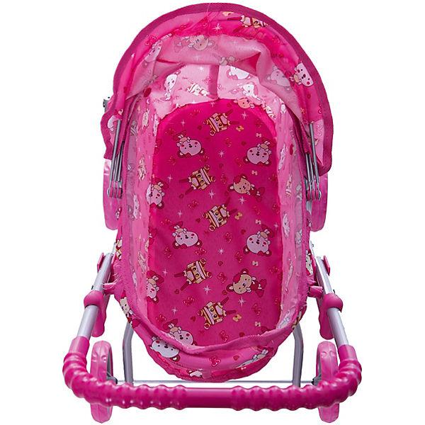 Коляска для кукол Buggy Boom , розовая