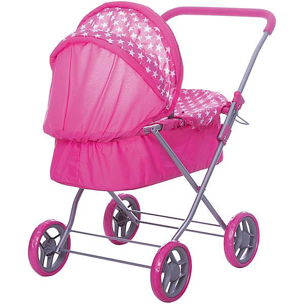 Коляска для кукол Buggy Boom, розовая