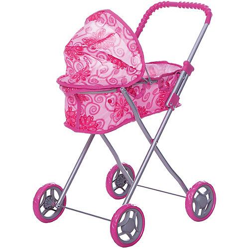Коляска для кукол Buggy Boom, розовая от Buggy Boom