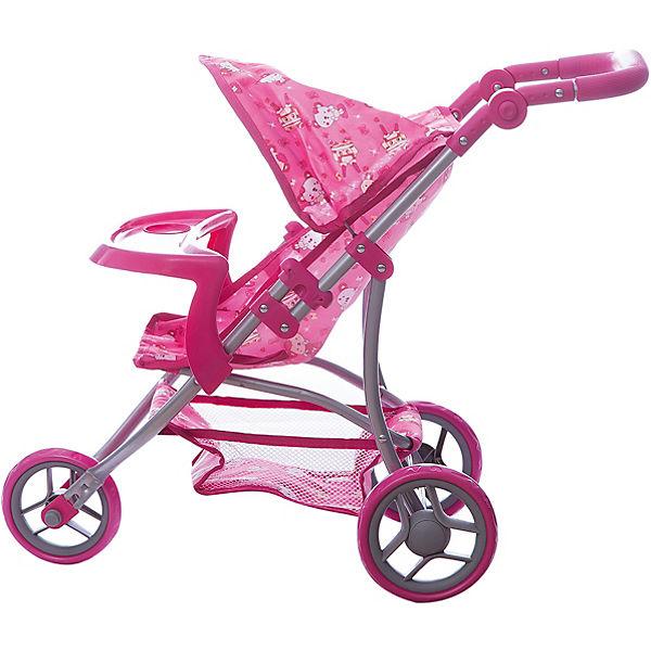 Коляска - трансформер Buggy Boom , розовая