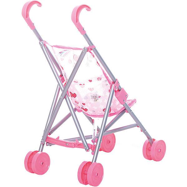 Коляска-трость для кукол Buggy Boom , светло-розовая