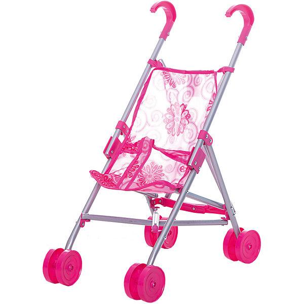 Коляска-трость для кукол Buggy Boom , розовая