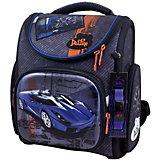 Ранец DeLune 3-164 с мешком для обуви + часы