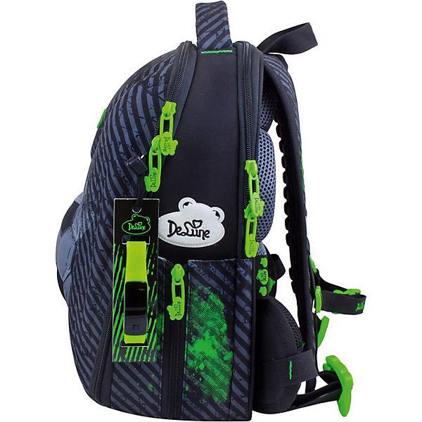 Ранец DeLune 7mini-007 с мешком для обуви и пеналом + часы
