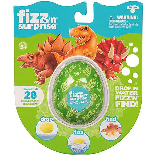 """Шипучее сердечко Moose """"Fizz N Surprise"""" Динозавры от Moose"""