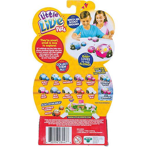 """Интерактивная игрушка Moose """"Little Live Pets"""" Божья коровка и малыш, Скорлупка от Moose"""