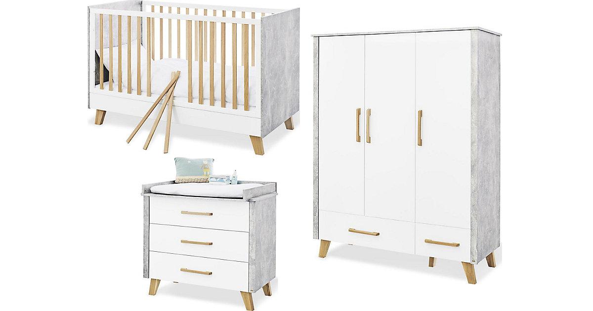 Weiss kleiderschrank 3 t rig preisvergleich die besten angebote online kaufen - Kleiderschrank betonoptik ...