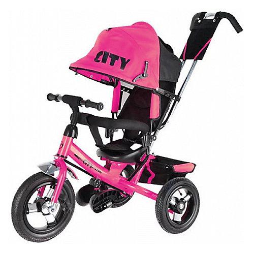Трехколесный велосипед City 8/10, розовый от City