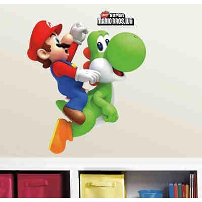 Wandsticker Nintendo Mario Kart 8 Mehrfarbig Super Mario Mytoys