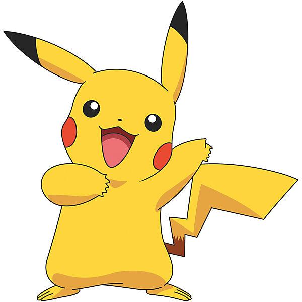 wandsticker pokemon pikachu giant  12 tlg   pokemon mytoys dance vector clip art dance vector clip art