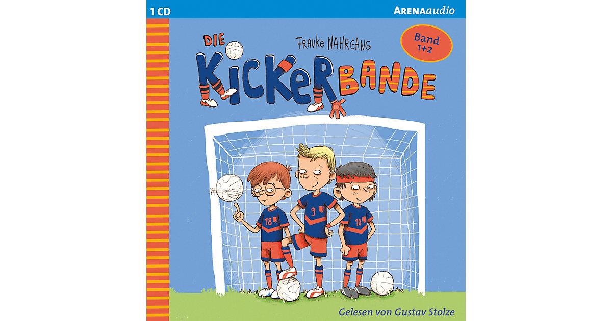 Die Kickerbande: Anpfiff das Siegerteam und Fußballfreunde halten zusammen, 1 Audio-CD Hörbuch  Kinder