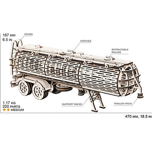 """Сбоная модель  Wood Trick """"Прицеп Цистерна"""" от Wood Trick"""